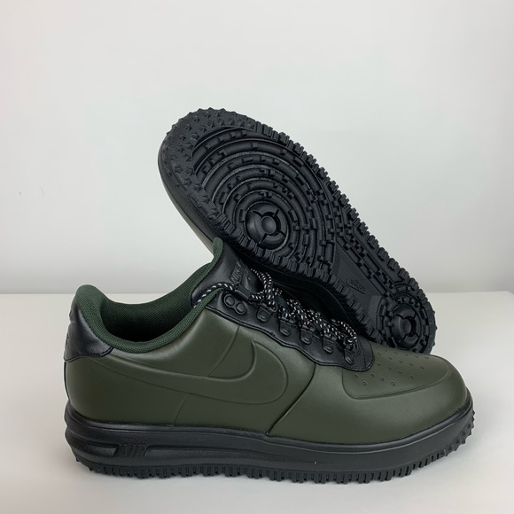 best website aca56 cd043 Nike Lunar Air Force 1 Sequoia Black Duckboot Low
